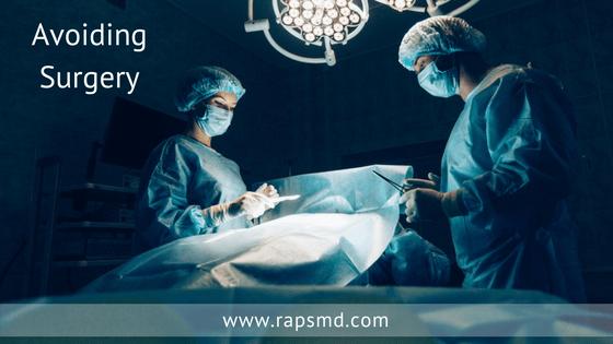 Avoiding Surgery